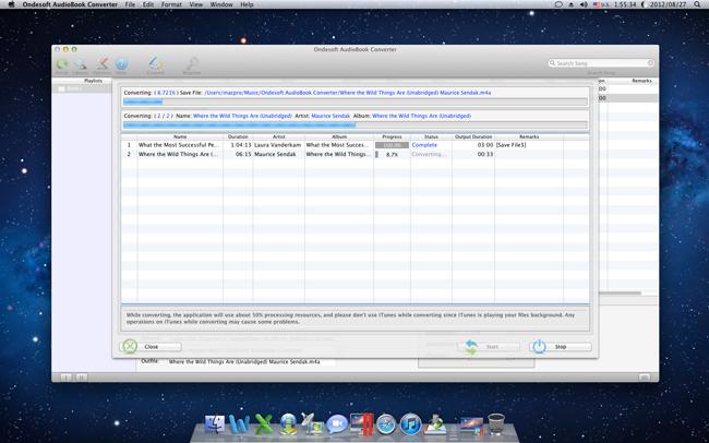 Ondesoft AudioBook Converter For Mac - 有声书转换软件[OS X]丨反斗限免