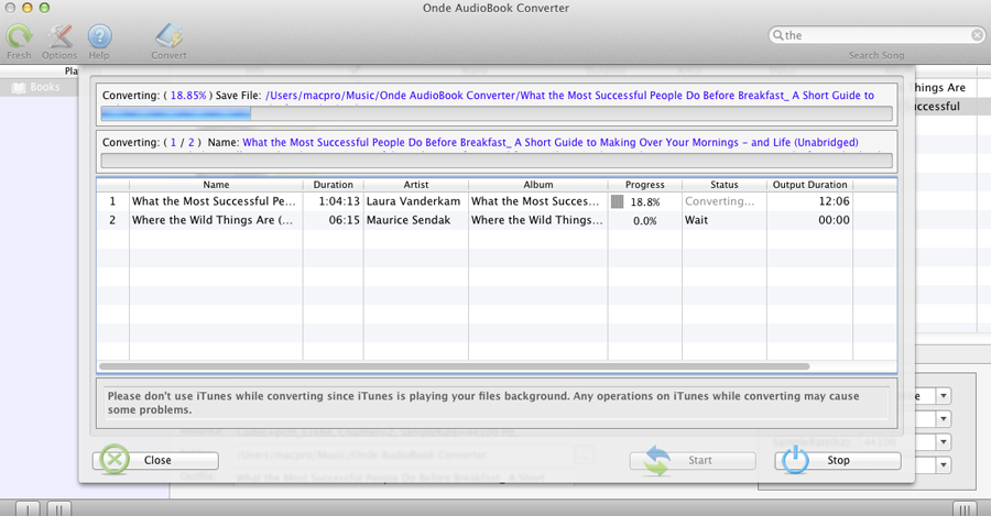 AudioBook Converter for Mac - Convert iTunes M4P/M4B and Audible AA