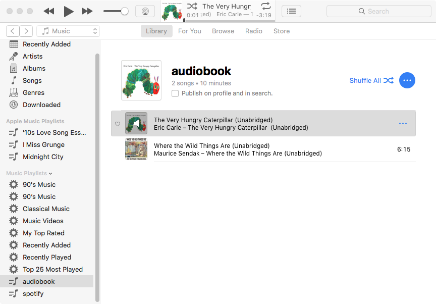 Solved: Play iTunes audiobooks on Android