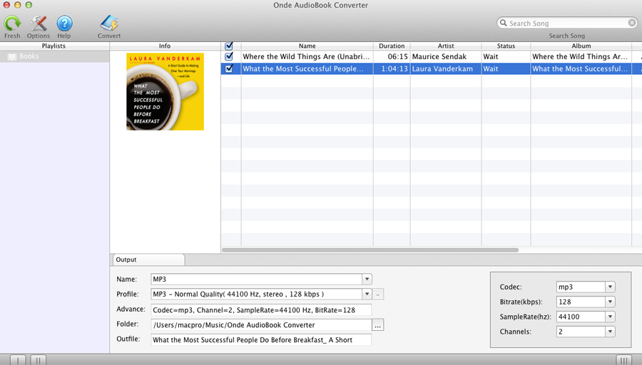 how to change aax to mp3