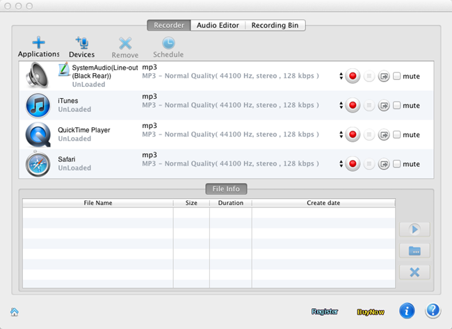 How to Record and Edit wav files from any source on Mac OS