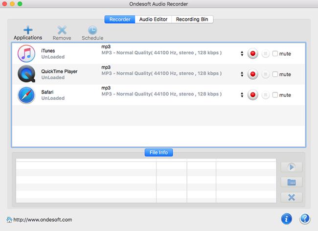 #3. Aktiv MP3 Recorder (Windows)