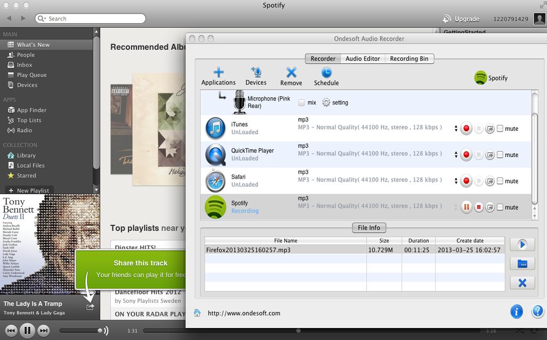 Spotify downloader mac online