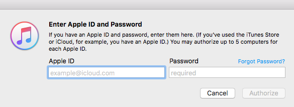 How To Authorize Computers in iTunes