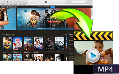 iTunes Video DRM removal
