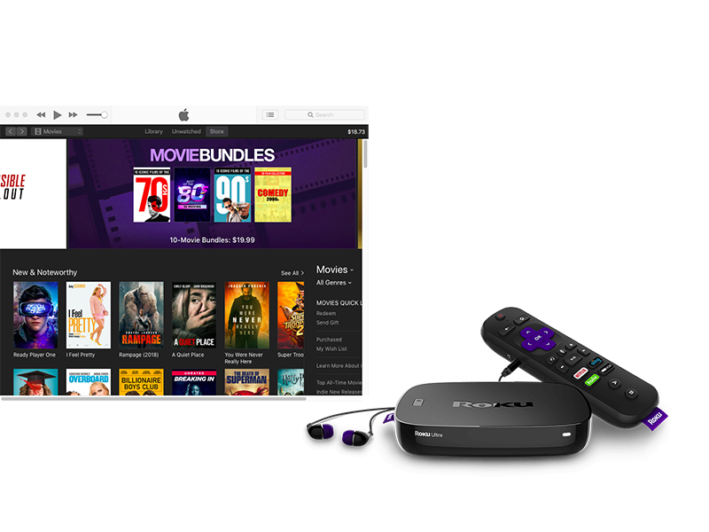 2 Ways to watch iTunes movies and TV shows on Roku