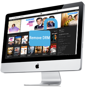 Ondesoft iTunes DRM Media Converter for Mac, iTunes video DRM Converter