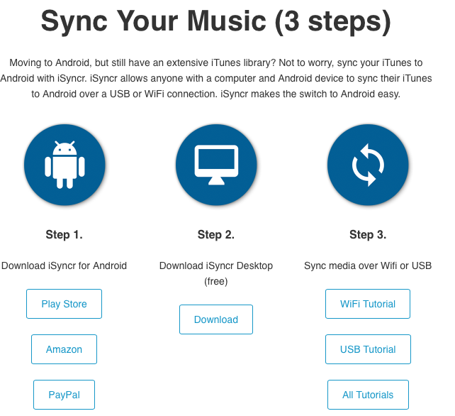 4 Ways to Play iTunes music on Android