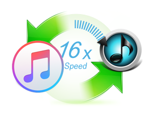 convert Apple Music at 16X speed