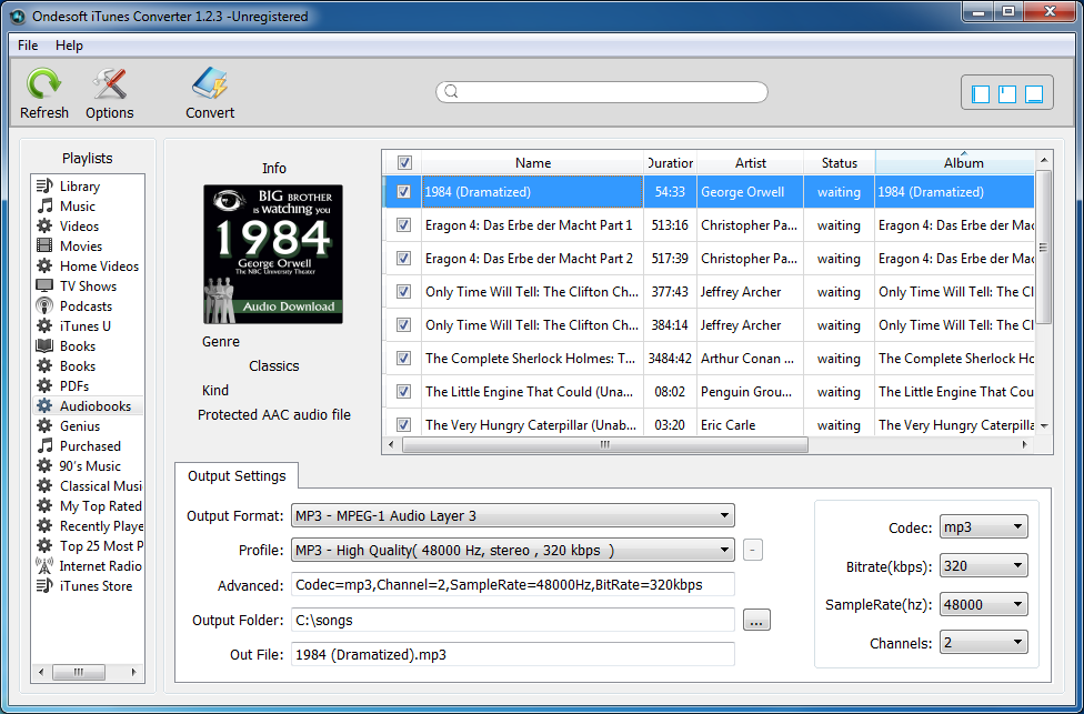 How To Remove Drm And Convert Aax Audiobooks To Mp3 - Imagez co