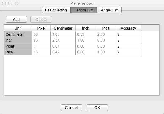 Mac actual size ruler - Measuring and results storing tool on Mac