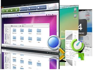 Mac Image Capture, Screen snapshot Mac