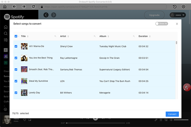 Get Spotify Premium free on Mac/Windows/Android/iOS