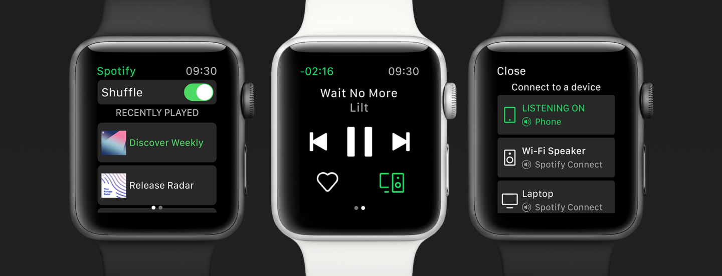 how to play spotify music on apple watch without iphone. Black Bedroom Furniture Sets. Home Design Ideas