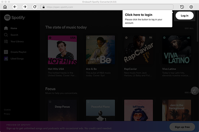 Spotify download mac free