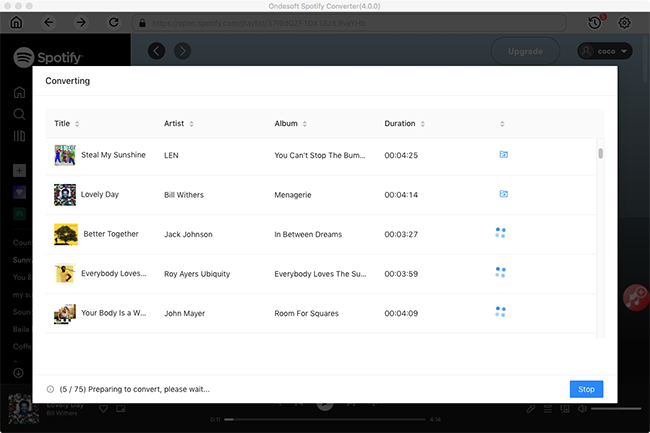 Music Converter for Spotify - Convert Spotify Music to MP3