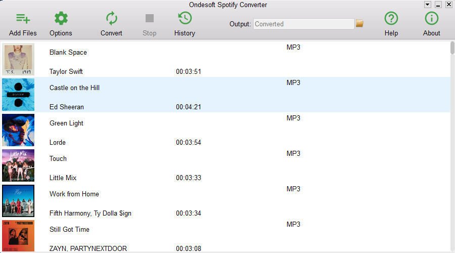 Spotify Downloader Windows - Download MP3 from Spotify