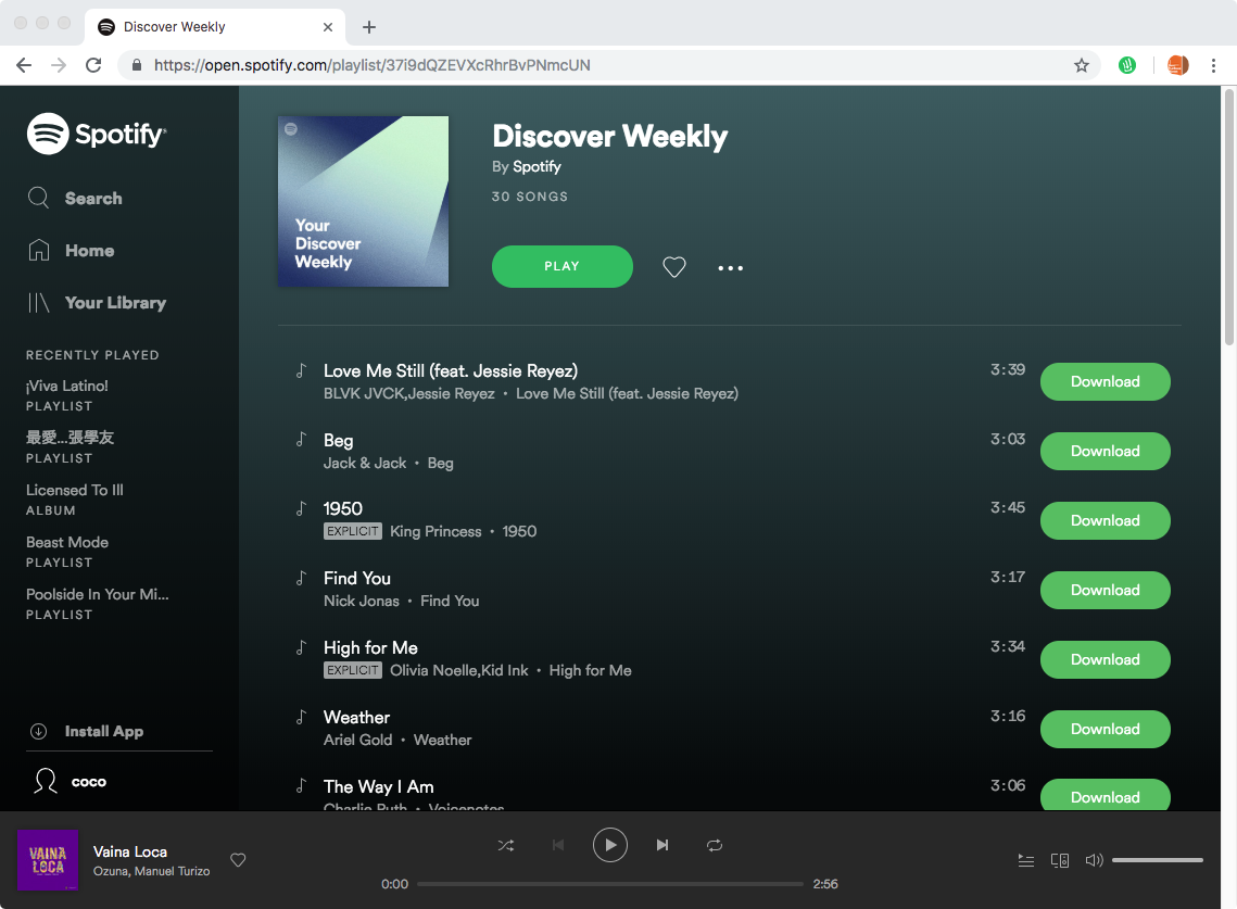 Spotify ✪ Deezer Music Downloader is no longer available