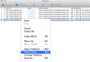 webpage to image and PDF converter for Mac